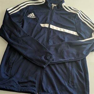 Youth Adidas Navy Track Jacket (Size XL)